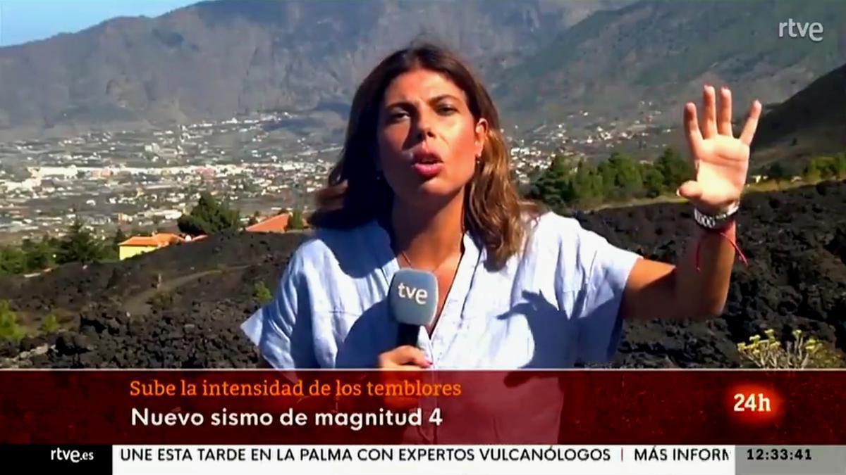 Francisca González en TVE