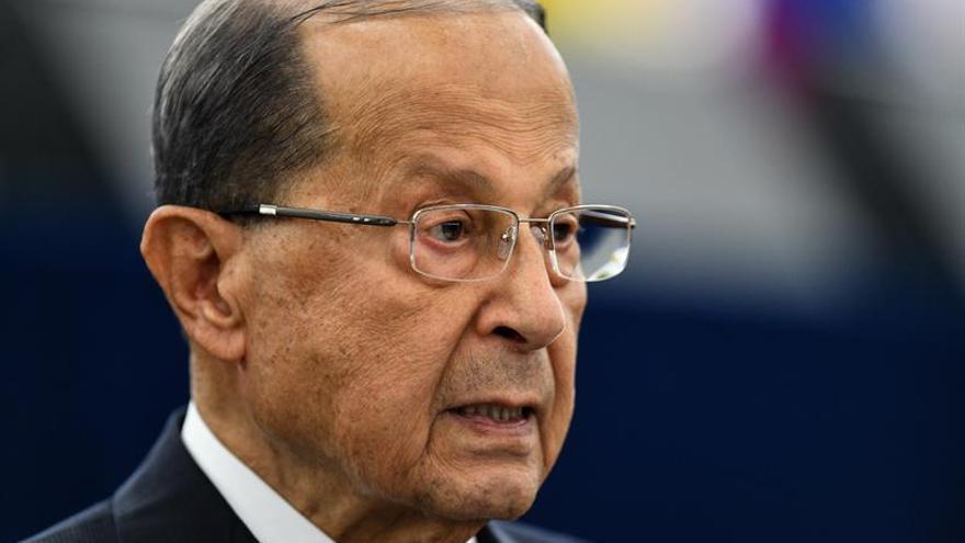 El presidente libanés aboga por encontrar una solución para formar el Gobierno