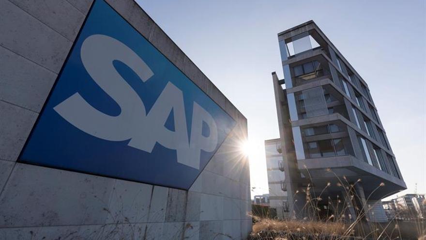 SAP baja su beneficio neto un 9 % en el primer trimestre, hasta 521 millones