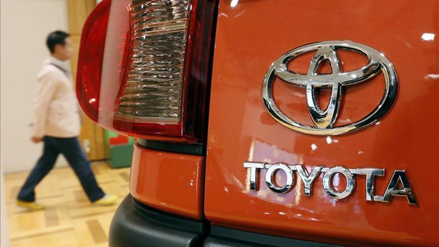 Toyota logra un beneficio casi 2,5 veces mayor que el del año anterior