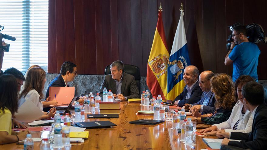Reunión del Consejo de Gobierno de Canarias celebrado este viernes, 4 de agosto.