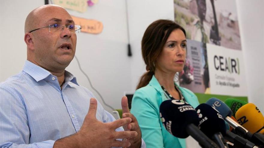 Canarias recibió 820 peticiones de asilo en 2017 y en este año van 195