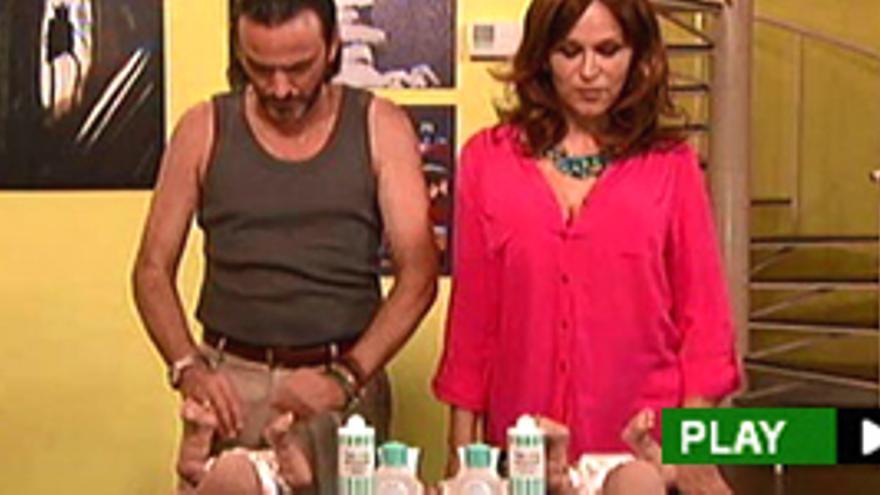 Antonia San Juan y Fernando Tejero cambian pañales en sus primeras imágenes juntos en 'La que se avecina'