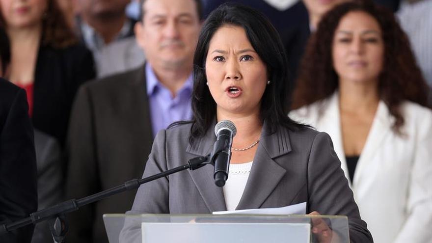 Keiko Fujimori presentó un hábeas corpus para la excarcelación de su padre