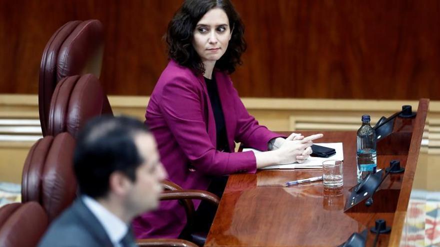 Ayuso acusa al Gobierno de haber despilfarrado hasta 296 millones de euros