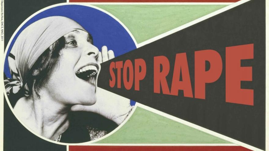 Campaña de Rape Crisis Scotland contra las violaciones.