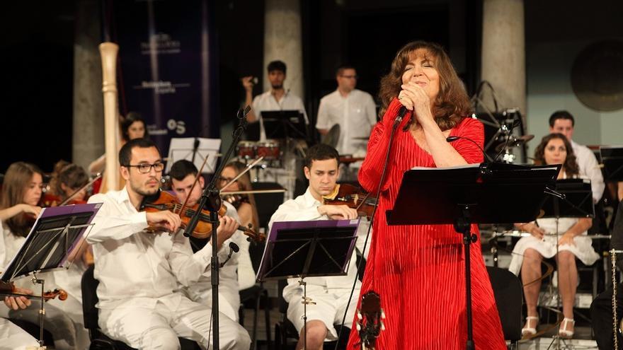 La cantant mallorquina Maria del Mar Bonet.