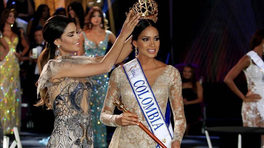 Una estudiante de diseño industrial, elegida nueva Miss Colombia