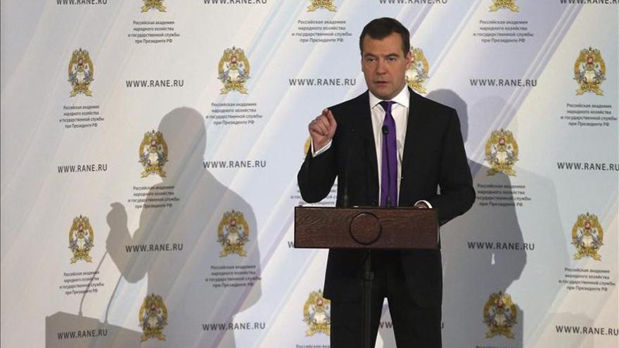El primer ministro ruso optimista sobre el futuro de la UE tras la reunión con Cameron