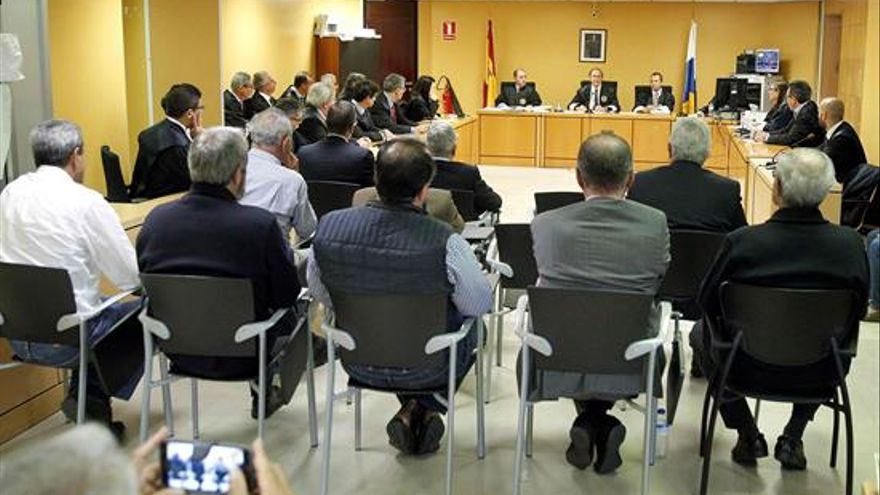 Última sesión del juicio por el caso Las Teresitas
