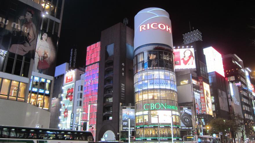 Las luces de Ginza son una de las señas de identidad de Tokio. Este barrio exclusivo es un templo del consumismo. Terrazzo