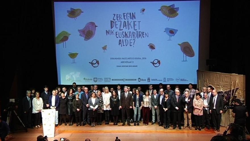 """Gobierno vasco buscará el """"mayor consenso"""" para lograr el """"desarrollo estratégico de la agenda del euskera"""""""