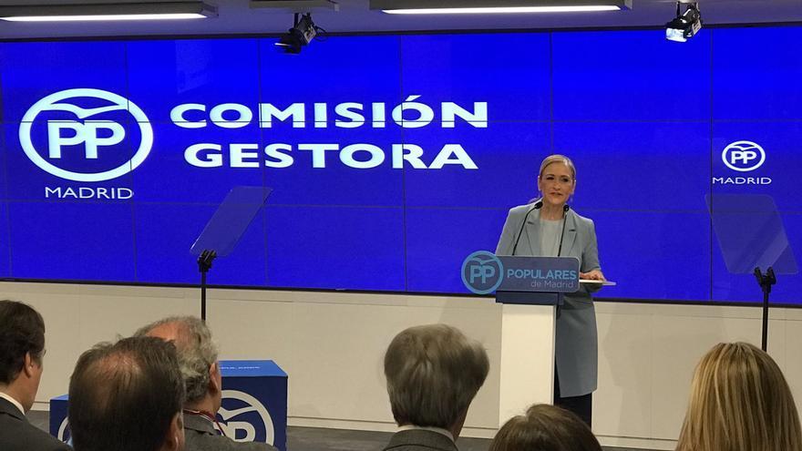 Cristina Cifuentes anuncia su candidatura a la presidencia del PP de de Madrid