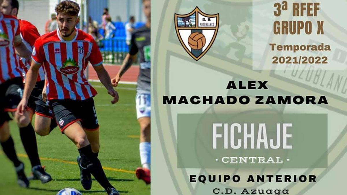 Álex Machado, nuevo jugador del Pozoblanco.