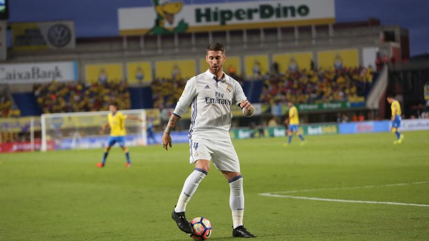 Sergio Ramos. (ALEJANDRO RAMOS)
