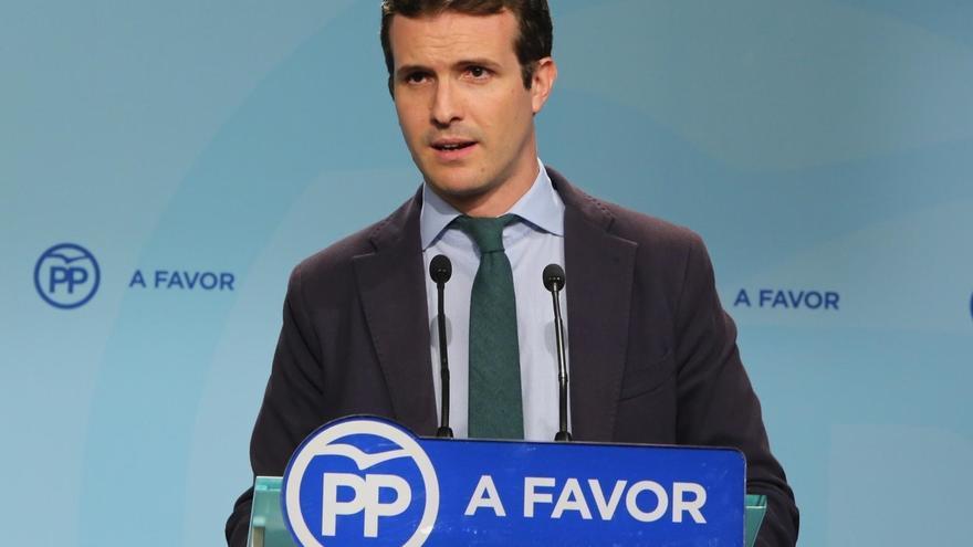 """Casado dice que Cospedal """"merece"""" ser ministra y que puede compaginarlo con la dirección del PP como ya hicieron otros"""