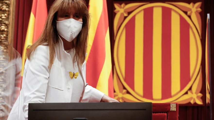 Borràs no asistirá a la toma de posesión del jefe de la Guardia Civil en Barcelona