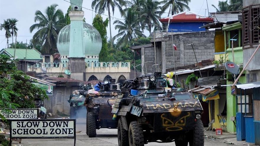 Más de 800 muertos en el conflicto con yihadistas del EI en sur de Filipinas