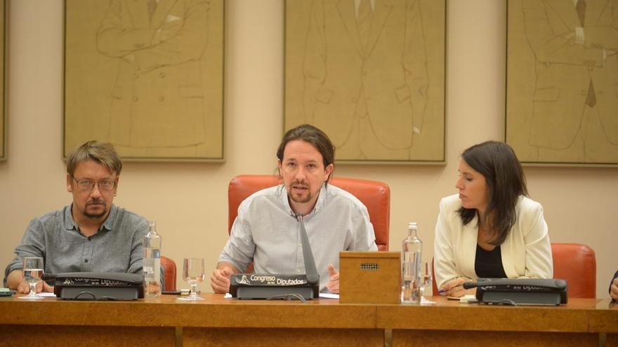 Unidos Podemos propone a los partidos una asamblea para pedir al Gobierno un referéndum pactado en Cataluña