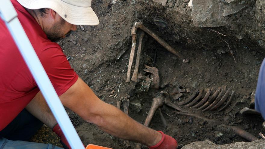 Víctima del franquismo, ejecutada con las manos atadas en Higuera de la Sierra (Huelva). | JUAN MIGUEL BAQUERO