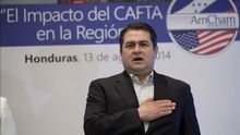 El presidente de Honduras verá al rey, a Rajoy y empresarios en su visita a España