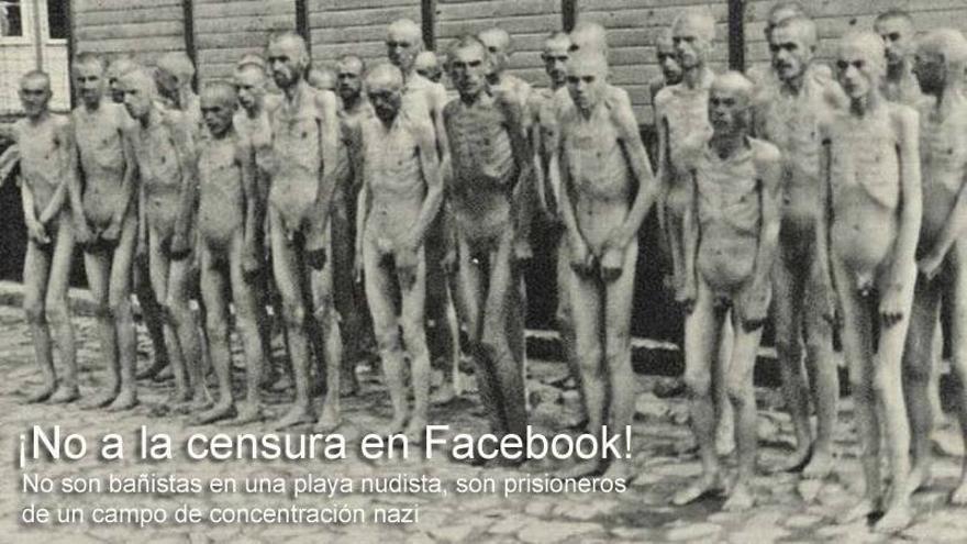 Campaña contra la censura de la imagen del Holocausto