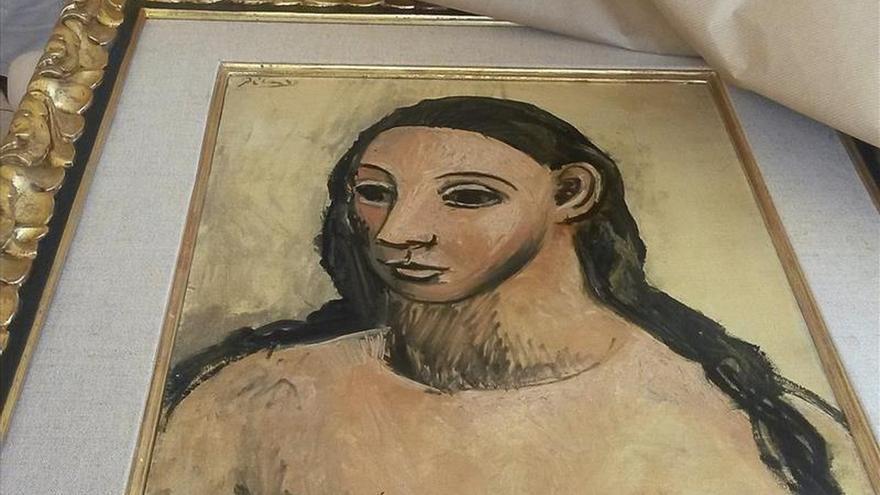 """El Picasso """"Cabeza de mujer joven"""", vinculado a Botín, llega hoy a Madrid"""