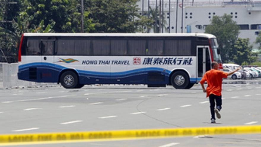 Secuestran un autobús en Filipinas (Manila)
