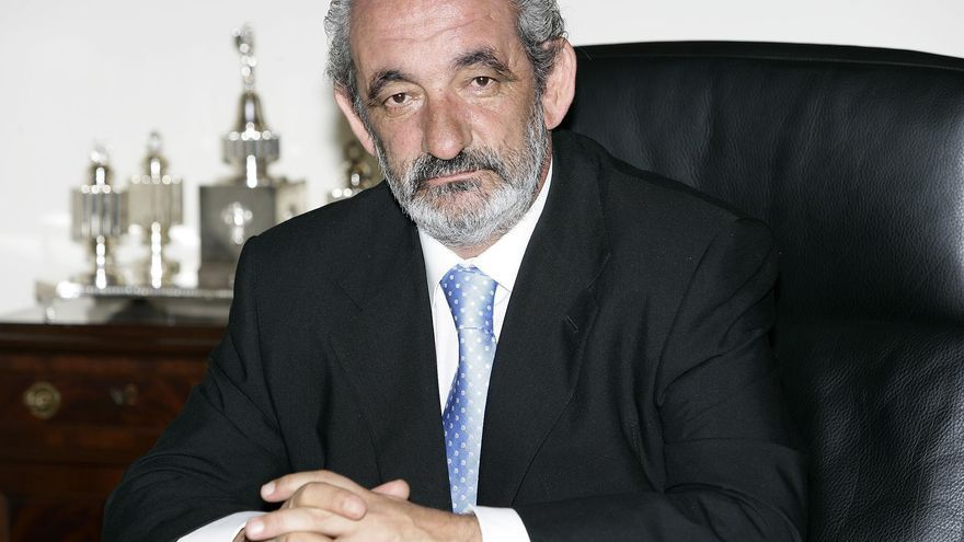El empresario leonés Santos Llamas, que fue presidente de Caja España.