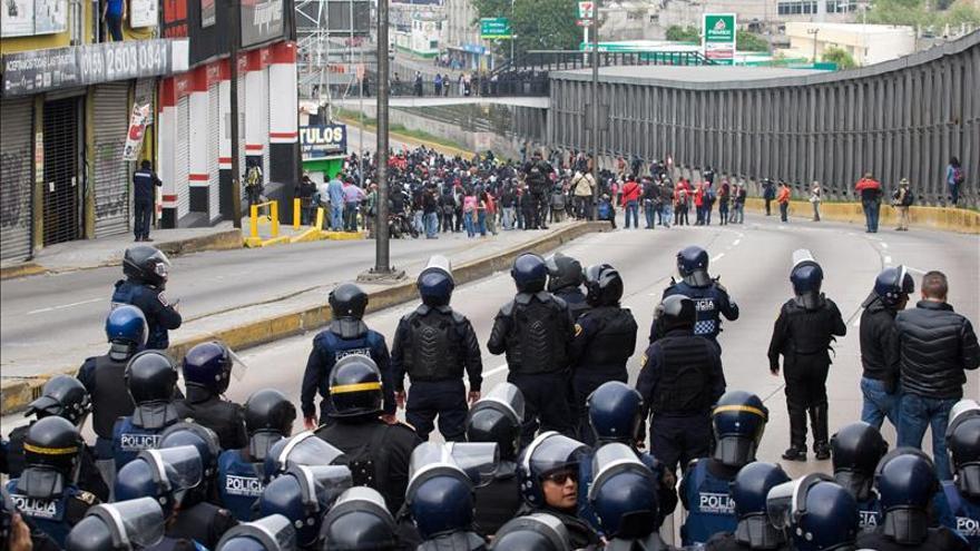 Juez mexicano niega libertad bajo fianza a los 11 detenidos en protestas