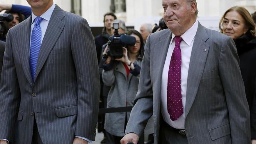 El Rey agradece a don Juan Carlos su ejemplo en favor de la concordia nacional