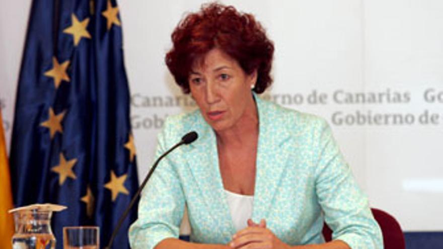 Inés Rojas, consejera de Bienestar Social del Gobierno de Canarias. (CANARIAS AHORA)