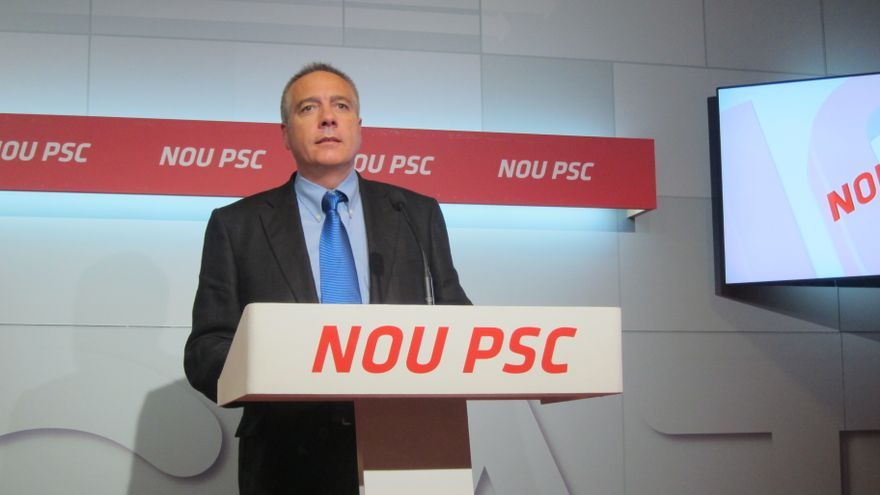 """Pere Navarro (PSC) aceptaría un referéndum """"siempre que respete las reglas vigentes"""""""