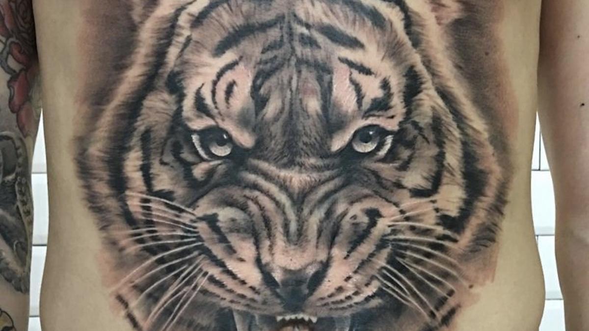 Un tigre tatuado