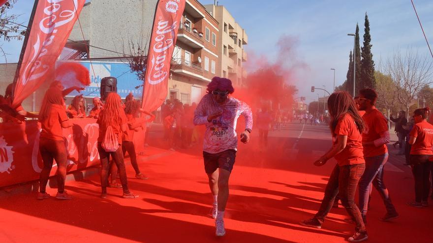Holi Run en Cabezo de Torres