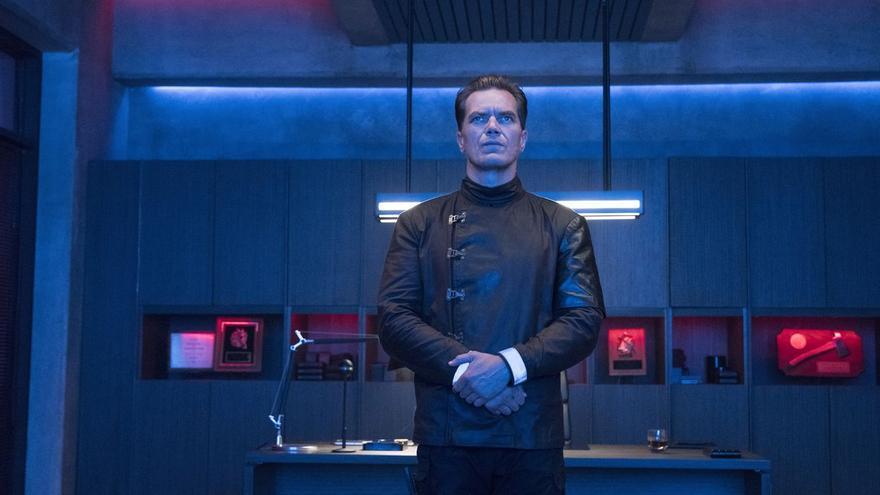 Michael Shannon es Beatty en 'Fahrenheit 451'