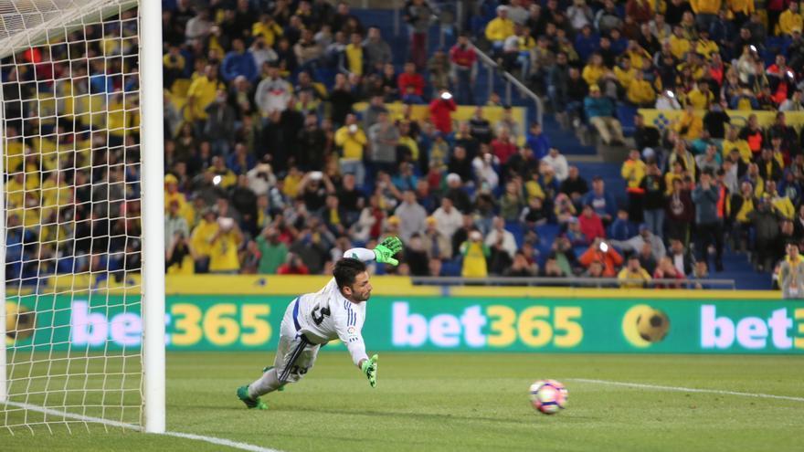 UD Las Palmas - Real Betis. Alejandro Ramos.