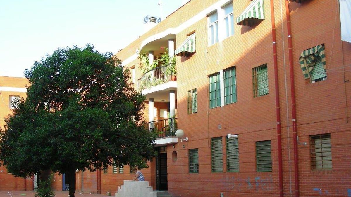 Manzana 15 de la barriada del Guadalquivir.