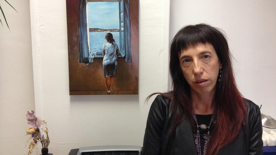 La directora del Instituto Navarro para la Igualdad, Mertxe Leránoz.