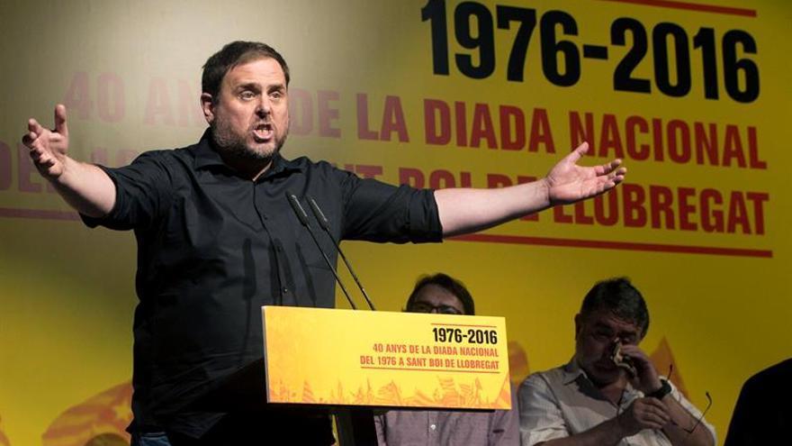 """Junqueras afirma que el diálogo por parte del PP """"nunca ha existido"""""""