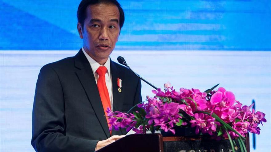 El presidente indonesio ordena disparar a narcotraficantes si se resisten