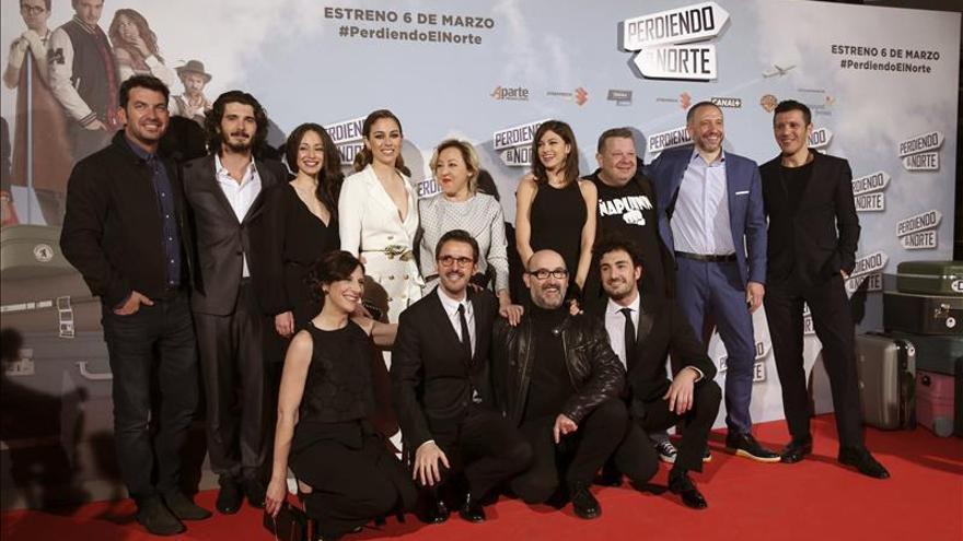 """La comedia española """"Perdiendo el Norte"""" alcanza el millón de espectadores"""