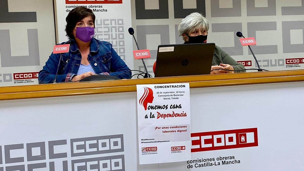 Rueda de prensa de CCOO-CLM
