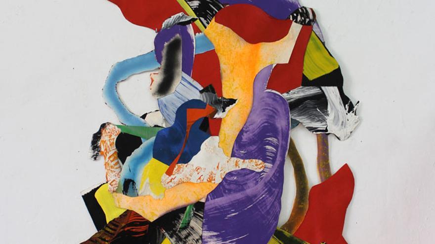 Obra 'She's like a Rainbow' de Juan Olivares
