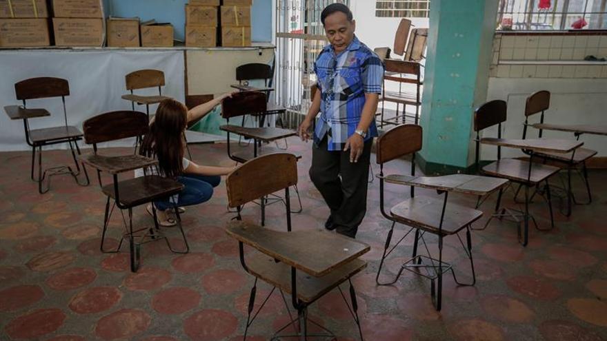 Arrancan las elecciones generales de Filipinas con la apertura de colegios
