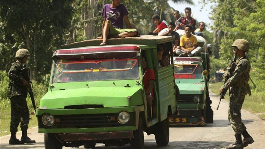 Al menos 14 muertos  en enfrentamientos del Ejército con Abu Sayyaf en Filipinas