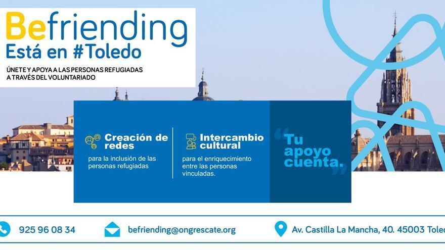 Cartel informativo de la presentación en Toledo