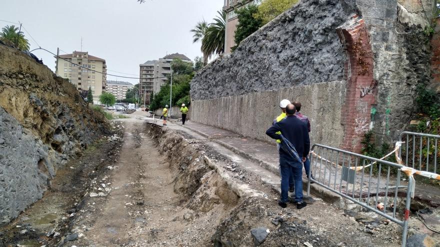 Reanudadas las obras de los túneles de Ocharan