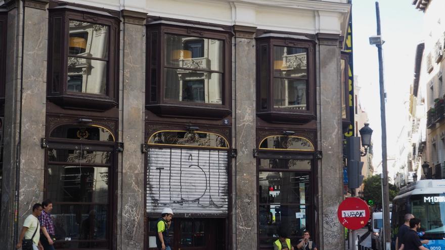 El Café del Príncipe, a la espera de ser reabierto bajo las manos de De María