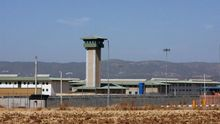 Vista del exterior del centro penitenciario de Córdoba, donde cumple condena A.C.V.